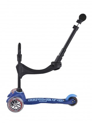 Trottinette Mini 3en1 Deluxe Push Bleu