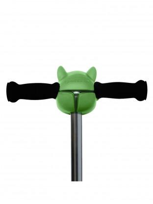 Tête de dino vert