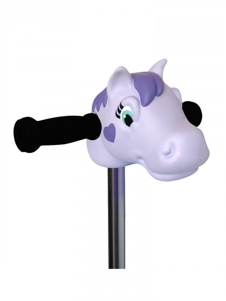 Tête de poney violet