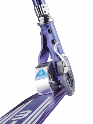 Trottinette Micro Sprite Bleu Saphir Grip Rayé