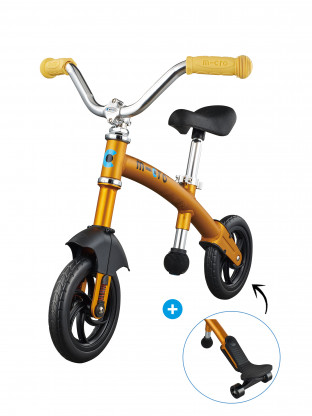 G-Bike Deluxe Jaune