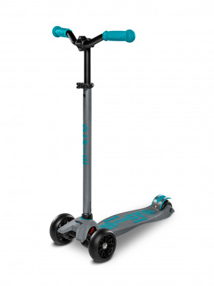 Trottinette Maxi Micro Deluxe Pro Bleu Gris