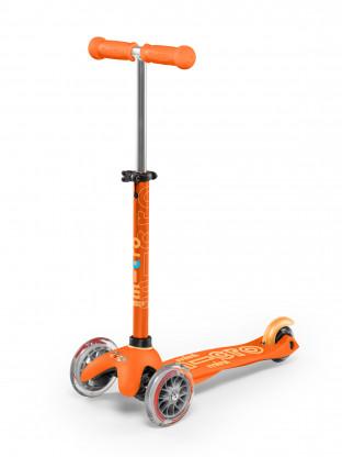 Trottinettes 3 roues Mini Micro Deluxe Orange