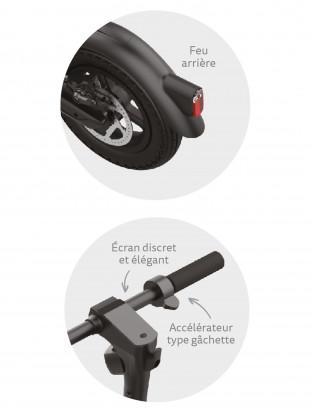 Trottinette électrique Micro X10