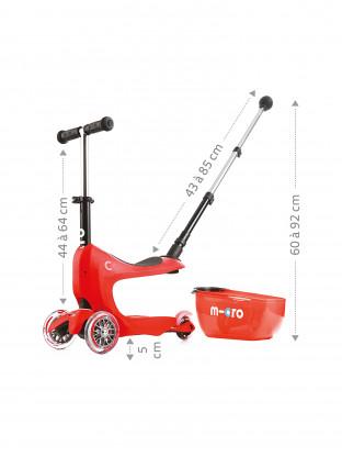 Mini 2Go deluxe rouge