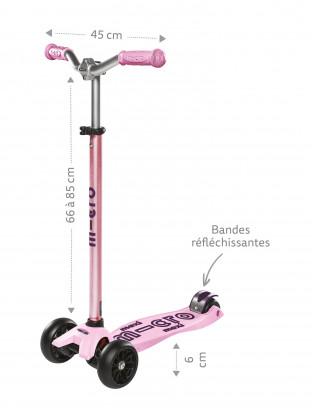 Trottinette Maxi Micro Deluxe Pro Rose