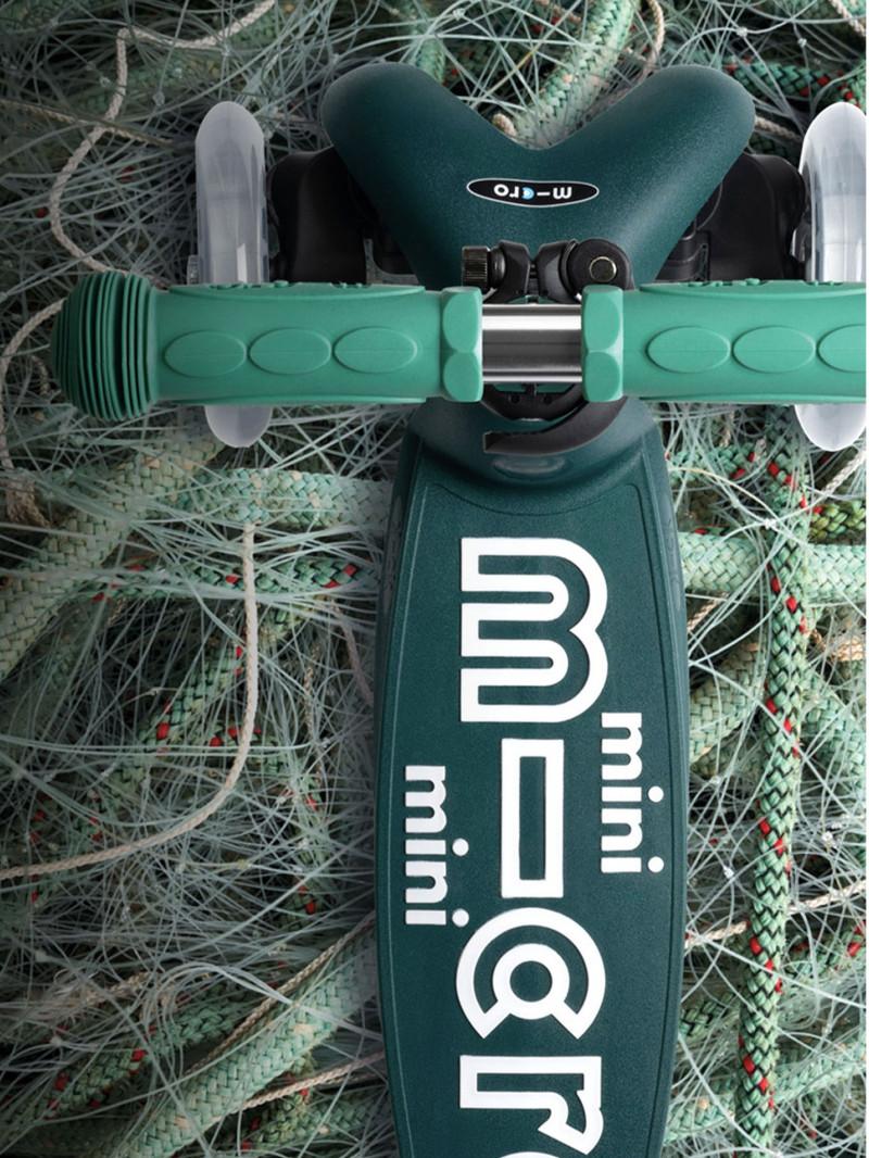 Image Mini Micro Éco avec des filets de pêche en arrière-plan