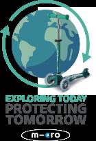 Logo Micro - Explorer aujourd'hui, protéger demain