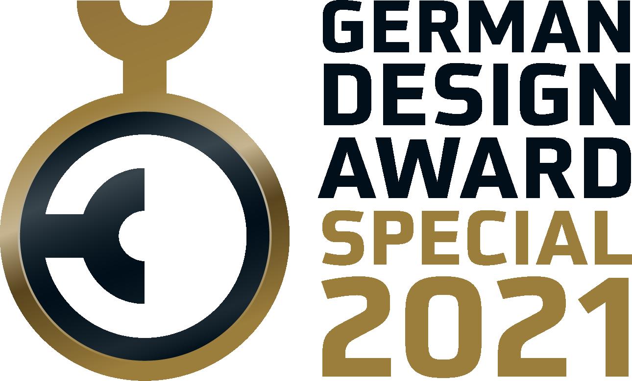 Logo évènement German Design Award 2021