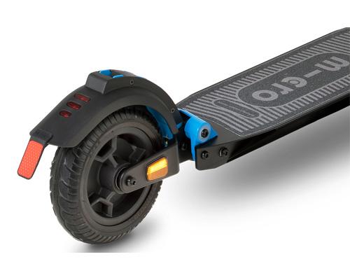 image de l'arrière de la trottinette électrique Micro Merlin