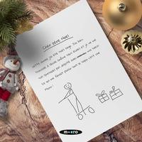 Est-ce que les lettres au Père Noël sont parties ? 💌 ⠀ ⠀ On espère que vos enfants ont été sages cette année ! 😇Le père Noël nous souffle à l'oreille que