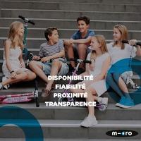 SERVICE CLIENT MICRO MOBILITY 💙Faites confiance à notre service client ! Il vous garantit disponibilité, fiabilité, proximité et transparence ! 🦸♀️N'hésitez pas à faire appel à nos expert.e.s !👉 Pour plus d'informations sur nos engagements SAV, rendez-vous sur notre site !#MicroMobility #WeAreMobility #Trottinette #durabilite #Scooter #freemobility #urbanmobility #sustainable #lifestyle #durability #TrottinetteElectrique #Electricscooter #electricbike